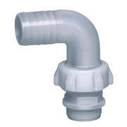 idraulica, irrigazione, giardinaggio, 3 pezzi, curvo , nylon , raccordo