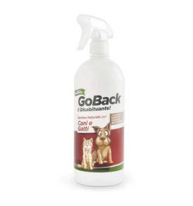 viscardi Repellente naturale per cani e gatti GO BACK il disabituante