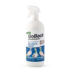 Repellente per piccioni e storni a base di estratti vegetali GO BACK viscardi srl