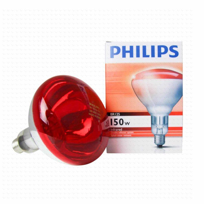 Lampada infrarossi per riscaldamento animali neonati 150w for Lampada infrarossi riscaldamento pulcini