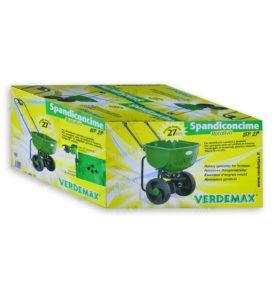 Carriola Spandiconcime VERDEMAX 27L per distribuire concimi e sementi