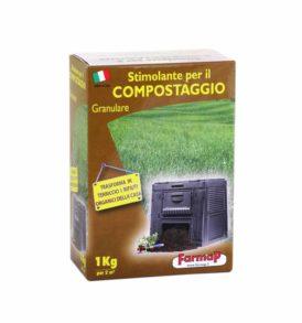 compostaggio domestico stimolante per il compostaggio